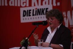 Kirsten Tackmann benennt die Probleme, ©Bianca Bodau