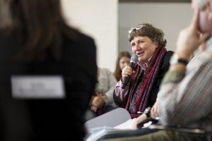 Kirsten Tackmann im Agrar-Workshop auf der Essener Konferenz GENUG FÜR ALLE